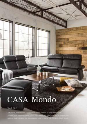 フランスベッド リビング総合カタログ:CASA Mondo