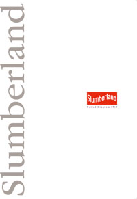 Slumberland (スランバーランド)カタログ